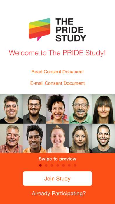 LGBT-Targeted Health Apps - The 'Pride' App is Being Used to Conduct the Largest LGBT Health Study