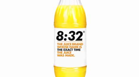 Timestamped Juice Branding - Intermarche Proves Its Fresh Orange Juice is the Freshest