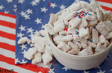 Patriotic Dog Treats - These Homemade Dog Biscuits are Perfect for the Forth of July
