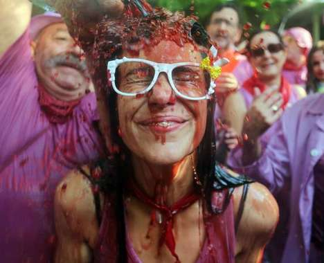 Wine Fight Festivals