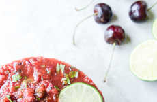 Grilled Cherry Salsa - This Fruity Salsa Will Make You Forget About the Traditional Mexican Dip