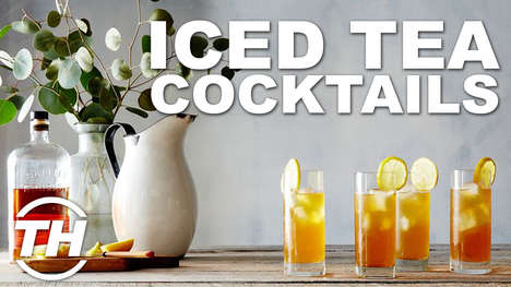 Iced Tea Cocktails - Alyson Wyers Counts Down Her Top Tea-Based Alcoholic Drinks for Summer