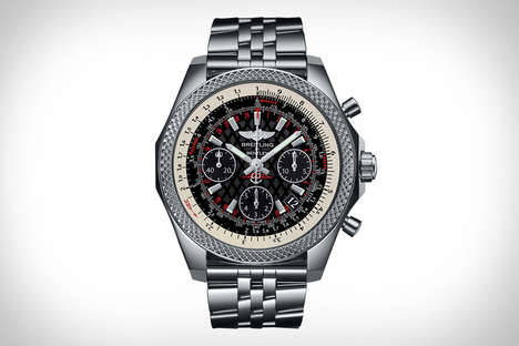 Cobranded Luxury Watches - The Breitling x Bentley B06 S Watch is an Ultra-Luxurious Accessory