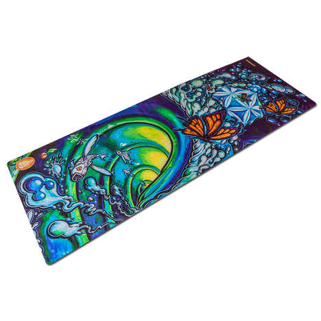Art-Inspired Yoga Mats - Spiritual Revolution's Mats Support Budding Artists and Photographers