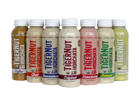 Organic Horchata Drinks - This Naturally Sweet Beverage is Made from Nutritious Tingernuts