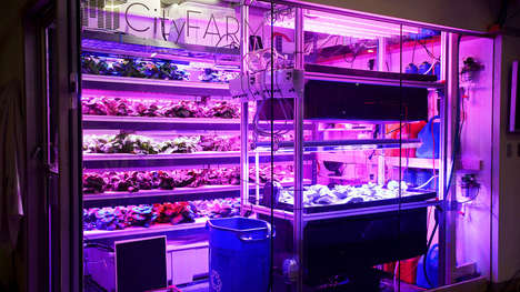 Desktop Aeroponic Gardens - This Soil-Free Farm is Small Enough to Fit on Top of a Desk