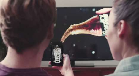 """Interactive Drinking Ads - With a Smartphone and Shazam, People Can """"Drink"""" These Coca-Cola Ads"""