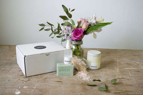 Rejuvenating Bath Sets - The Woodlot Relax Package is a Perfect Gift for Those Who Need to Unwind