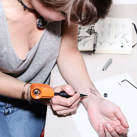 Personalized Tattoo Machines - The 'Personal Tattoo Machine' Allows User to Self-Administer Tattoos