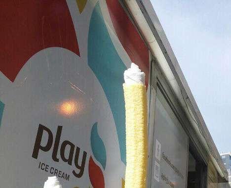 Hooked Ice Cream Cones