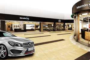 Japan's Haneda Airport Will Host an Interactive Mercedes-Benz Shop