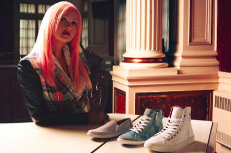 LGBT Youth-Supporting Kicks - Social Brand M4D3 Have Teamed Up with Cyndi Lauper's True Colors Fund