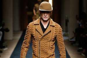 The Balmain Spring Men's Collection Takes Fashion Fans on an Adventure