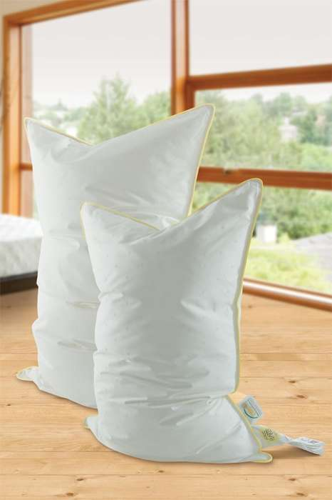 Snowflake-Inspired Pillows - These Luxurious Pillows are Inspired by Artificial Snowflakes