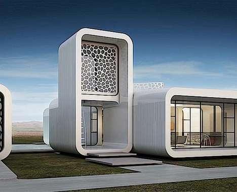 3D-Printed Office Buildings