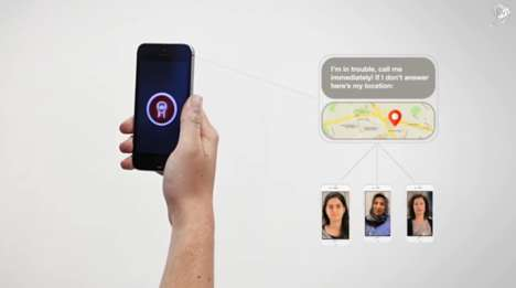 Secretive Safety Apps - Vodafone's Red Light App Disguises as a Mirror and Flashlight