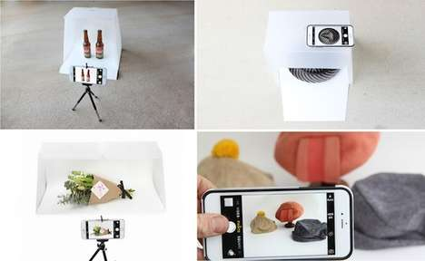 Mobile Photographer Studios - 'Lightcase Pro' is a Portable Photography Studio for Mobile Devices