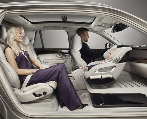 Up-Front Car Seats