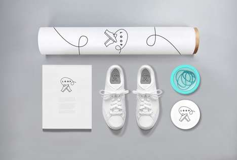Customizable Sneaker Kits - LOOP Provides Colorful Laces for Creating Custom Sneakers