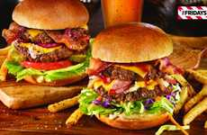 Digital Burger Giveaway Campaigns - TGI Fridays is Boosting Business Through Shareable Discounts