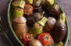 Stuffed Vegetable Salads - Rawia Bishara's Recipe is a Hearty Salad Dish for All Kinds of Foodies
