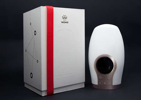Air-Powered Massage Devices - The Wowo ipalm Releases Air to Simulate Getting a Hand Massage
