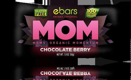 Motherhood Snack Bars - eBars' Snack for Moms Deliver All-Natural, Organic Energy