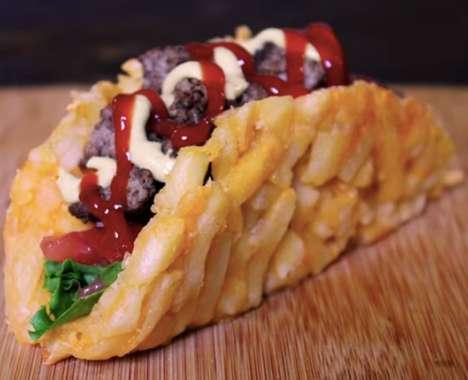 French Fry Taco Shells