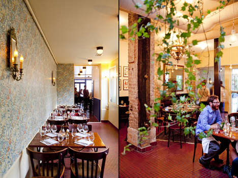 Elegant Aristocratic Gastropubs - The Rosemary Gastropub Brings British Pub Culture to Paris