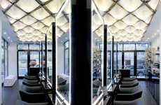 Flagship Blow Dry Bars - Show Dry is a Chic Urban Blow Dry Bar with Geometric Decor