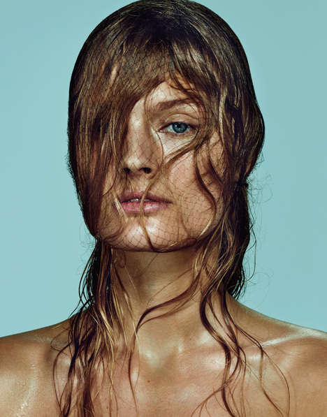 Eclectic Summer Editorials - Constance Jablonski Stars in The Edit July Issue
