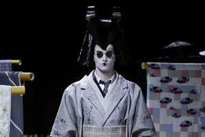 The Thom Browne Men's Spring Collection is Riddled with Japanese Influence
