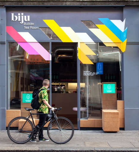 Casual Bubble Tea Lounges - Biju is a Laid Back Bubble Tea Room in South London