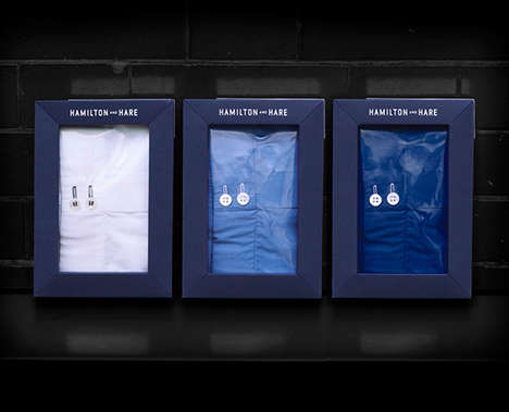 Boxing-Inspired Undergarments - Hamilton and Hare Recently Received a Rebrand of Its Packaging