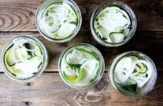 Zesty Pickled Zucchinis