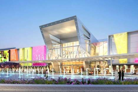 Oversized Shopping Centers - The Oasis Mall Will Contain 500 Shops & 17 Movie Theaters