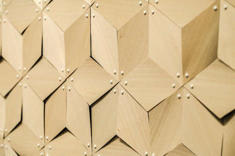 Water-Reacting Architectural Surfaces - Student Chao Chen Designs a Shapeshifting Laminate