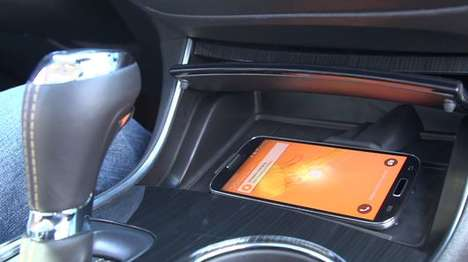 Phone-Cooling Car Vents - Chevrolet's Active Phone Cooling Lets Your Phone Enjoy Air-Conditioning