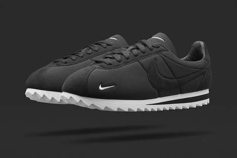 Retro Neoprene Sneakers - The NikeLab Cortez Big Tooth is Inspired by a 1972 Racing Track Staple