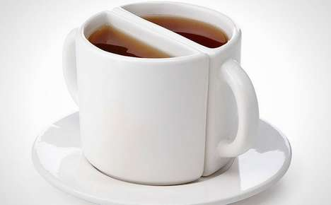 Twosome Tea Cups - This Romantic Dishware is a Fun Way to Enjoy Tea for Two