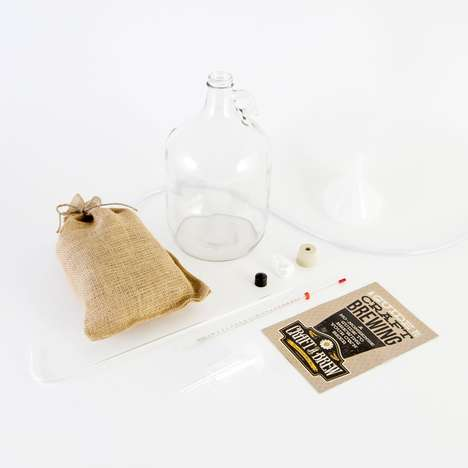 Beer Crafting Date Kits - This Bone Dry Irish Stout Brewing Kit is a Foolproof Date Night Activity