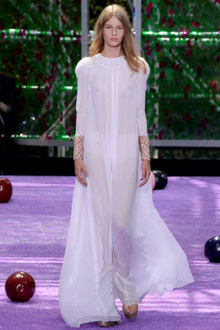 Contemporary Edwardian Fashion - The Christian Dior Fall Couture Line Refashions Traditional Looks