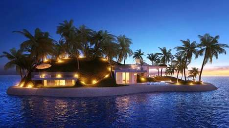Opulent Private Islands - These New Private Islands are Part of 'The World' Development in Dubai