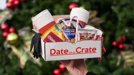 Date Night Subscription Boxes - Date in a Crate is a Monthly Delivery of Romantic Activities