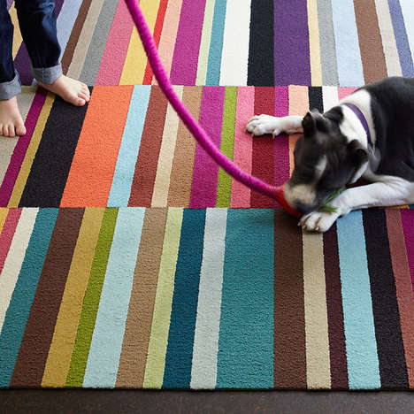 Upcycled Fishnet Carpets - These Eco-Friendly Modular Carpets Can Be Adjusted & Re-Sized