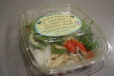 Portable Chicken Noodle Salads - This Five Spice Chicken Noodle Salad from Trader Joe's is Flavorful