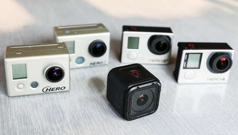 Durable Action Cameras - The Hero4 Session is the First GoPro That Doesn't Require a Case