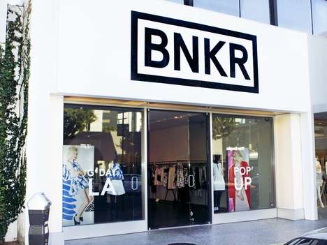 Aussie E-Tailer Pop-Up Shops - Online Retailer BNKR Has Opened a Pop-Up in Downtown LA