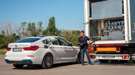 Hydrogen Fuel Cell Cars - The New BMW 5 Series GT is Powered By Hydrogen Fuel Cell Technology