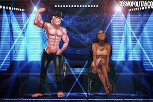 Isaiah Stephens Re-Imagines Wholesome Characters as Magic Mike Contenders